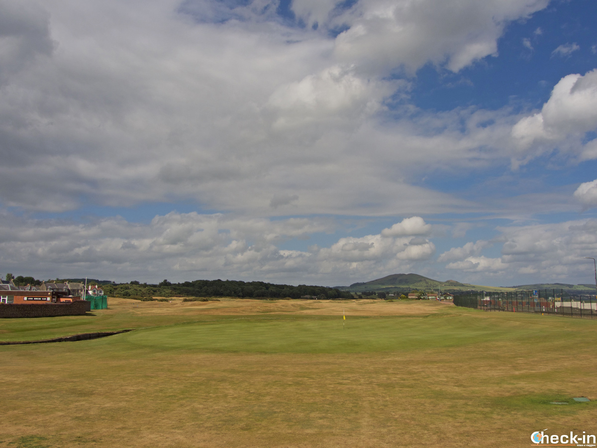 Il campo da golf di Leven Links - Fife, Scozia