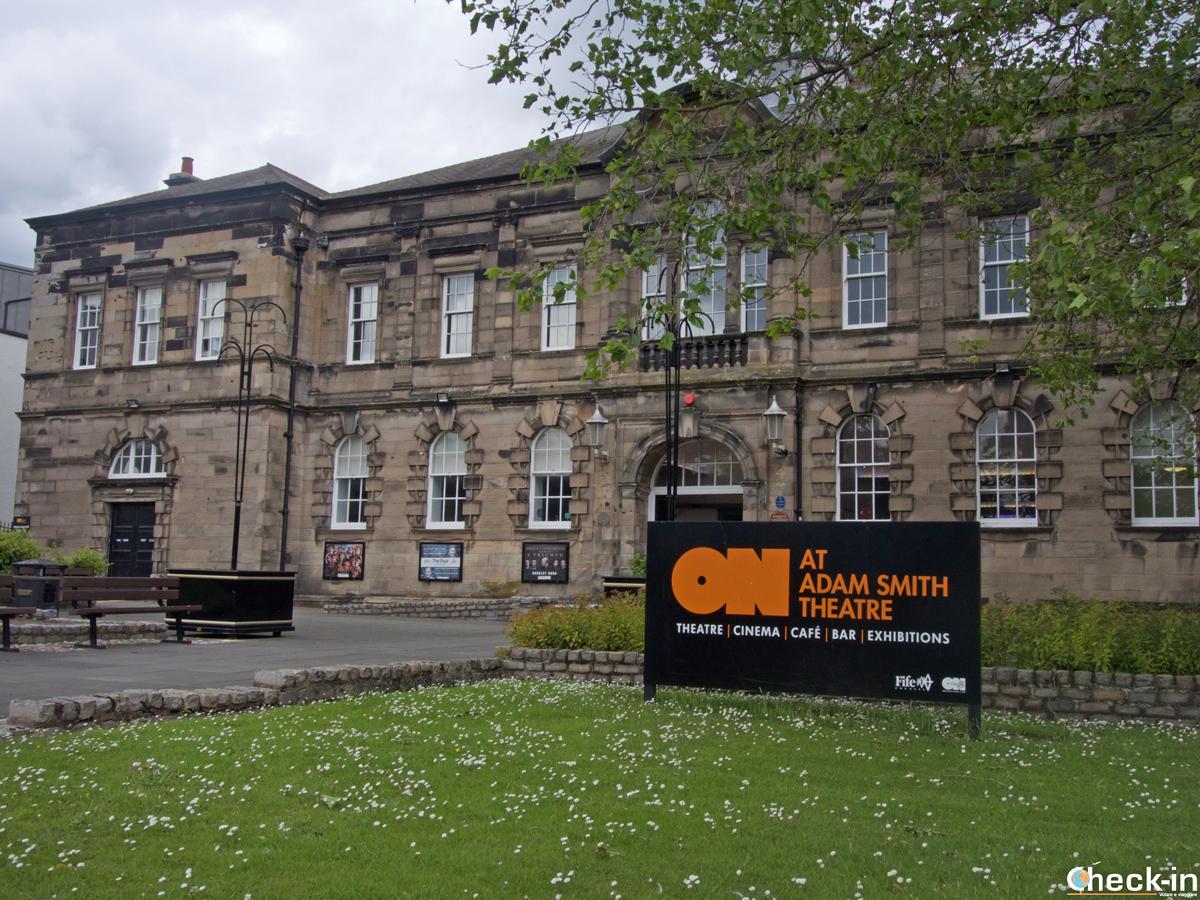 Il teatro Adam Smith di Kirkcaldy - Fife, Scozia