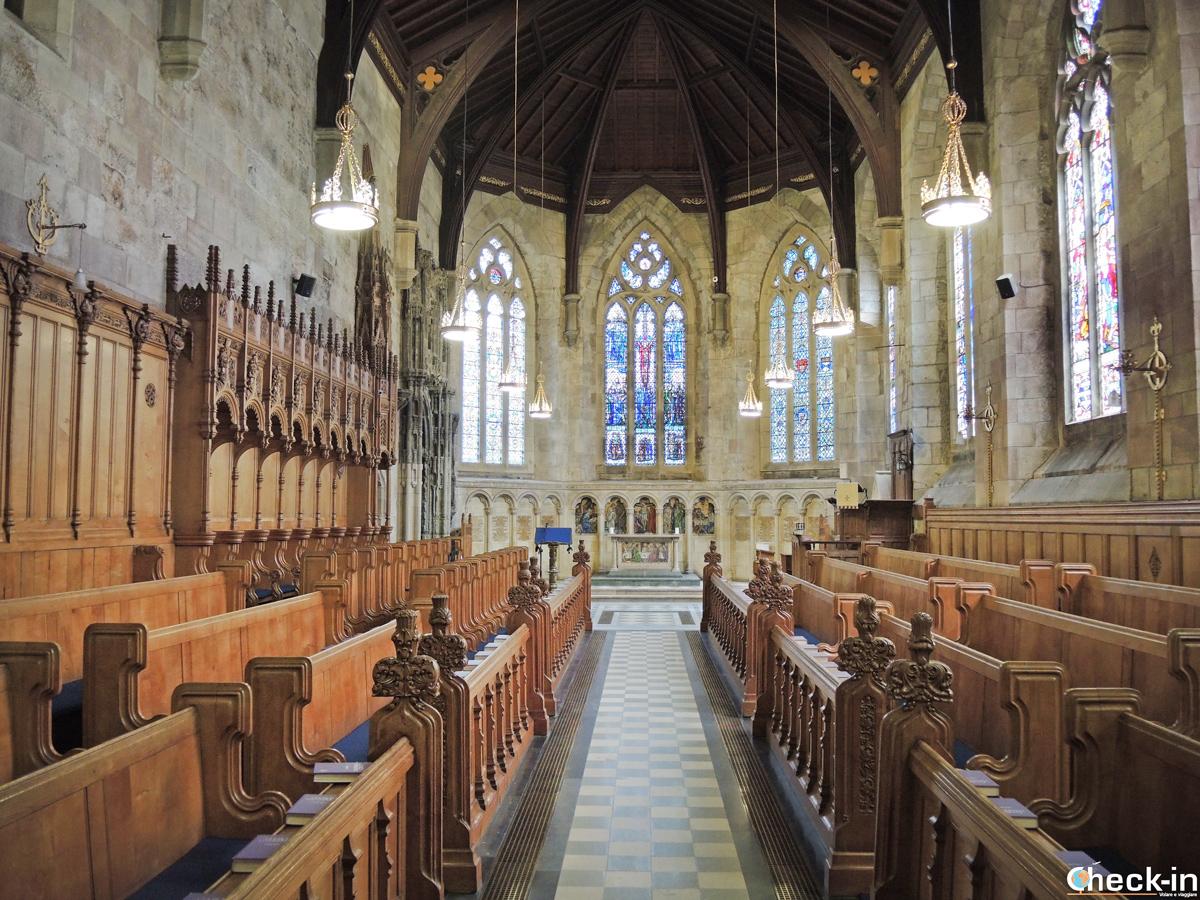 La St Salvator's Chapel dell'Università di St Andrews (Scozia)