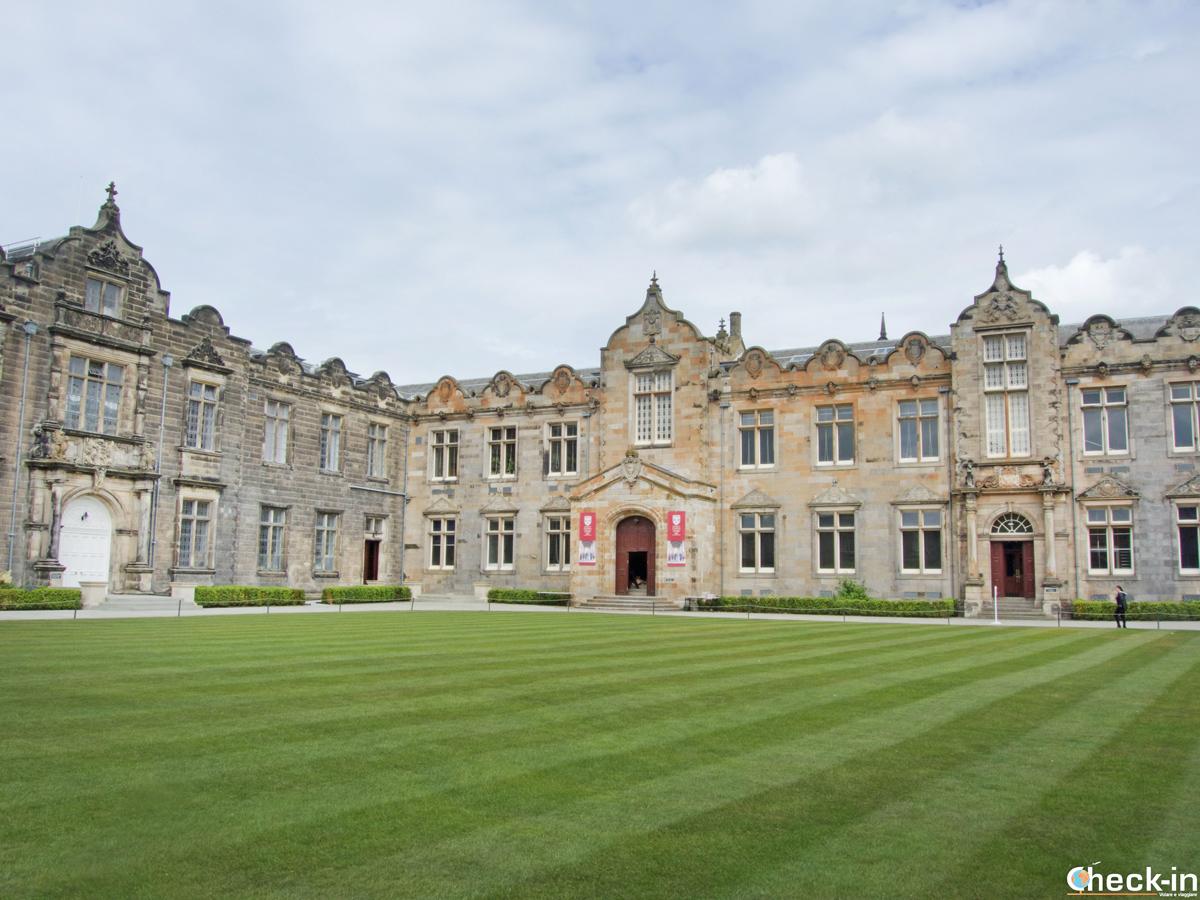 Il St Salvator's College dell'Università di St Andrews (Scozia)