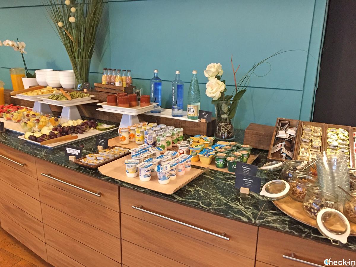 """El desayuno buffet al """"Hotel Puerta de Bilbao"""" en Baracaldo"""