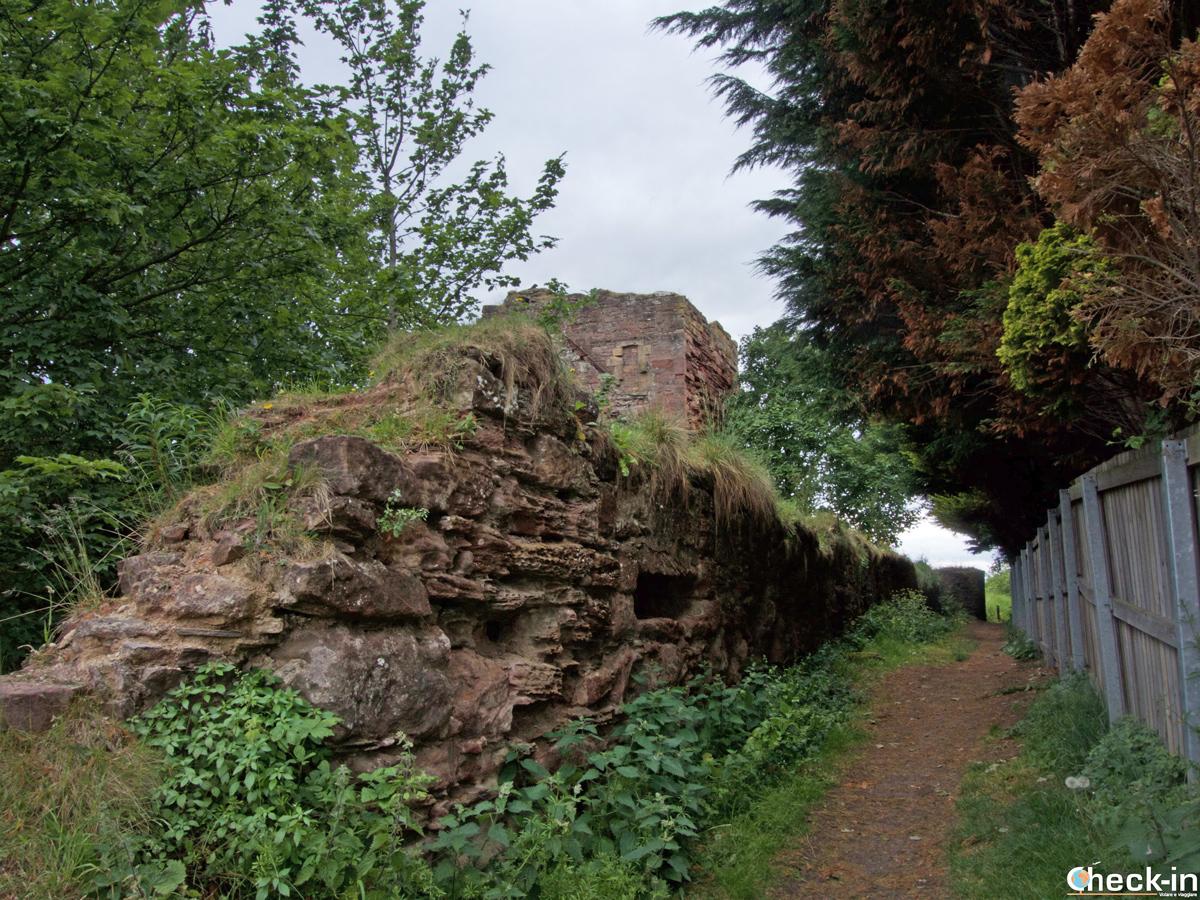 Le rovine del MacDuff Castle di East Wemyss (Scozia)
