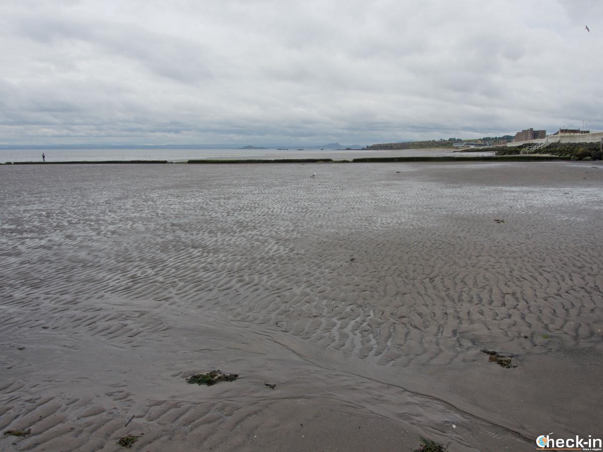 La Linktown Beach di Kirkcaldy (Scozia)