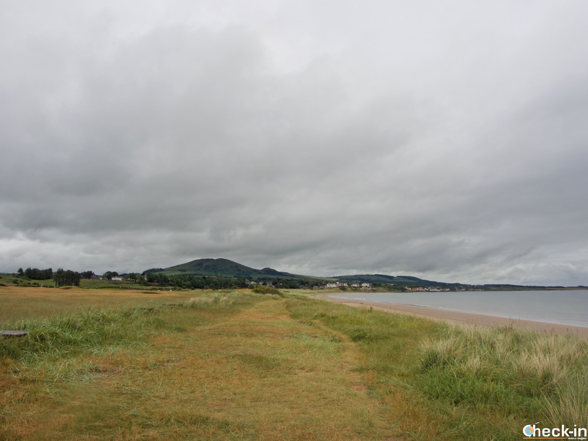 Il Fife Coastal Path da Leven a Lundin Links - Percorsi di lunga distanza in Scozia Regno Unito