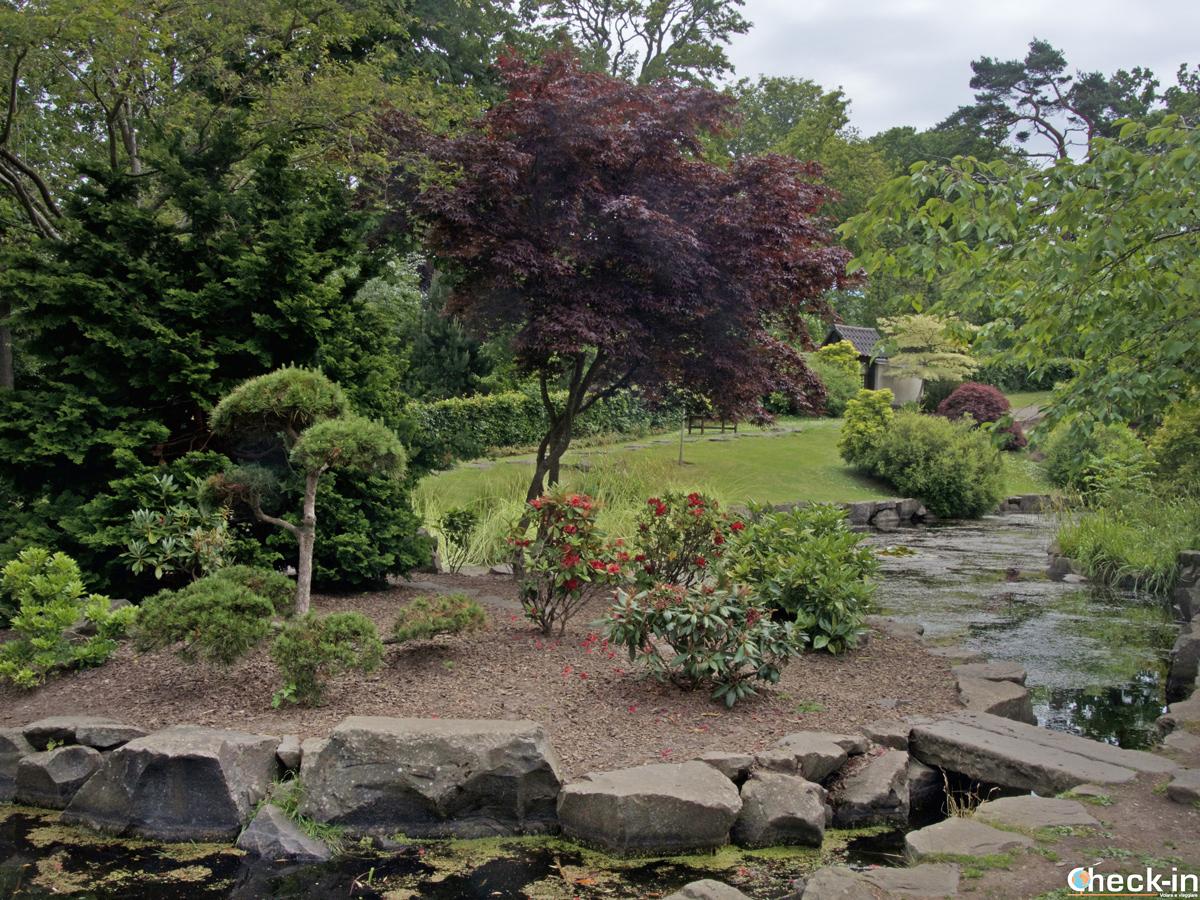 Il Kyoto Garden nei pressi del Lauriston Castle di Edimburgo