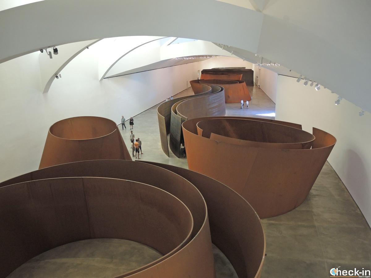 """""""La Materia del Tiempo"""" en el Guggenheim de Bilbao"""