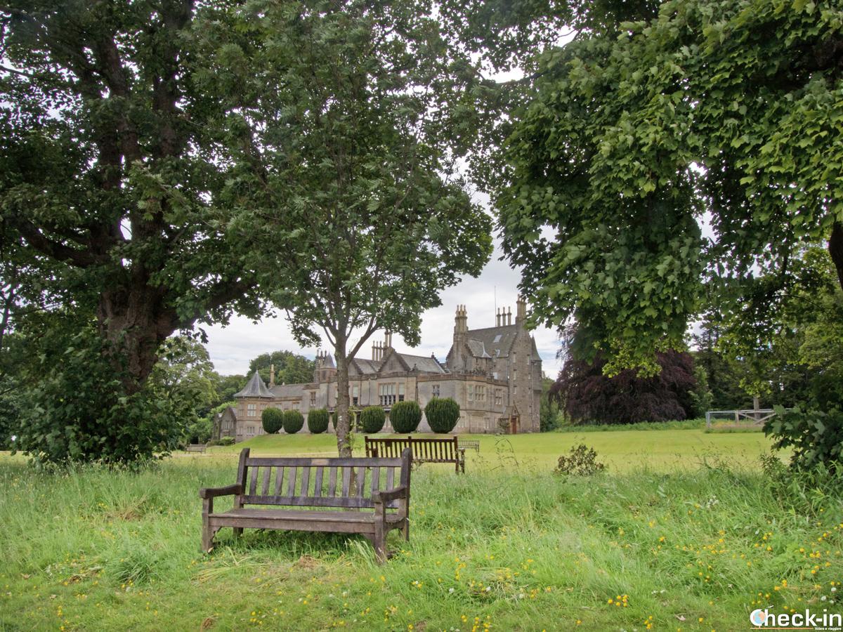 Il Lauriston Castle a nord di Edimburgo