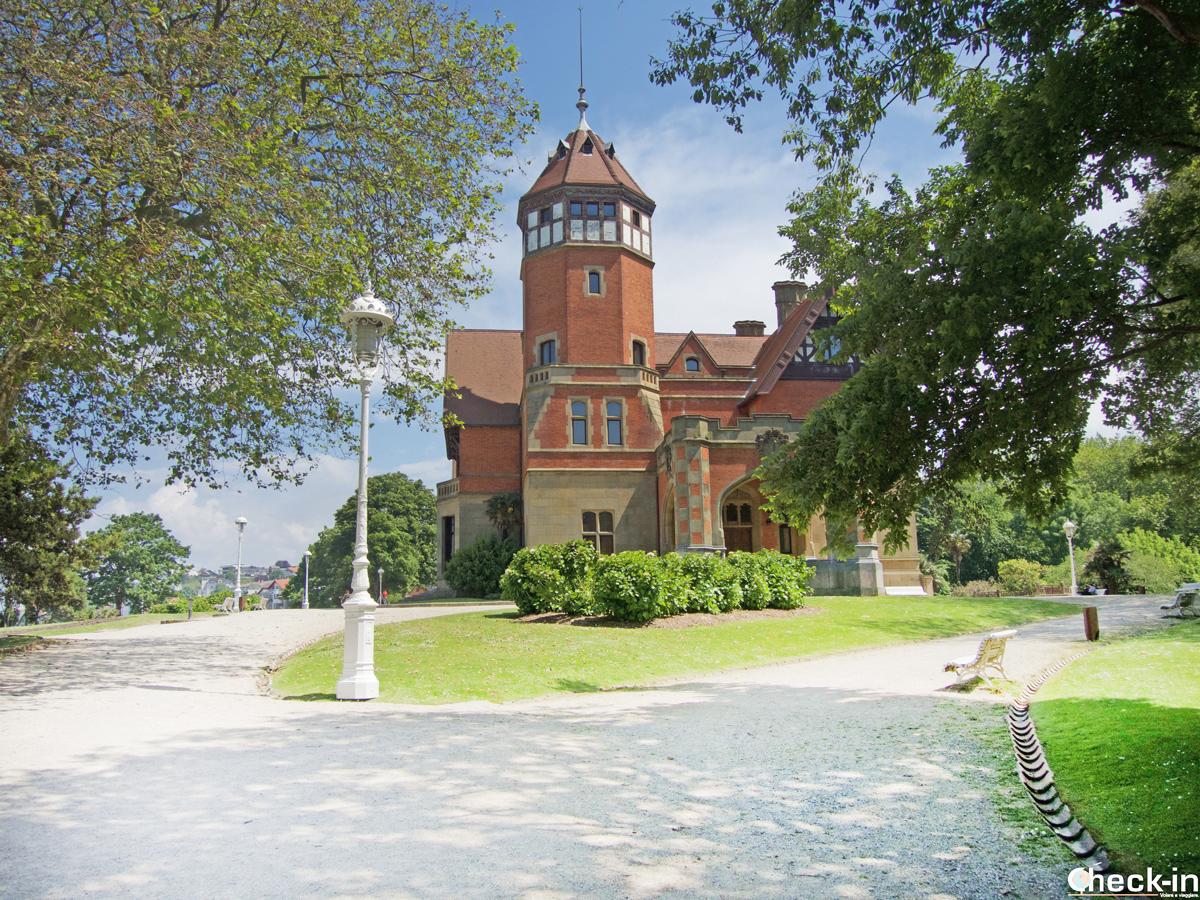 El palacio de Miramar en San Sebastián - País Vasco, España