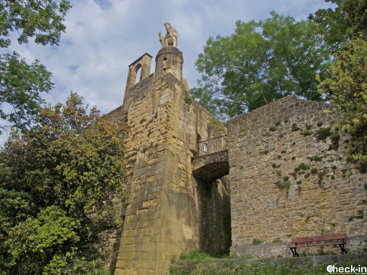 El Castillo de la Mota de San Sebastián (España)