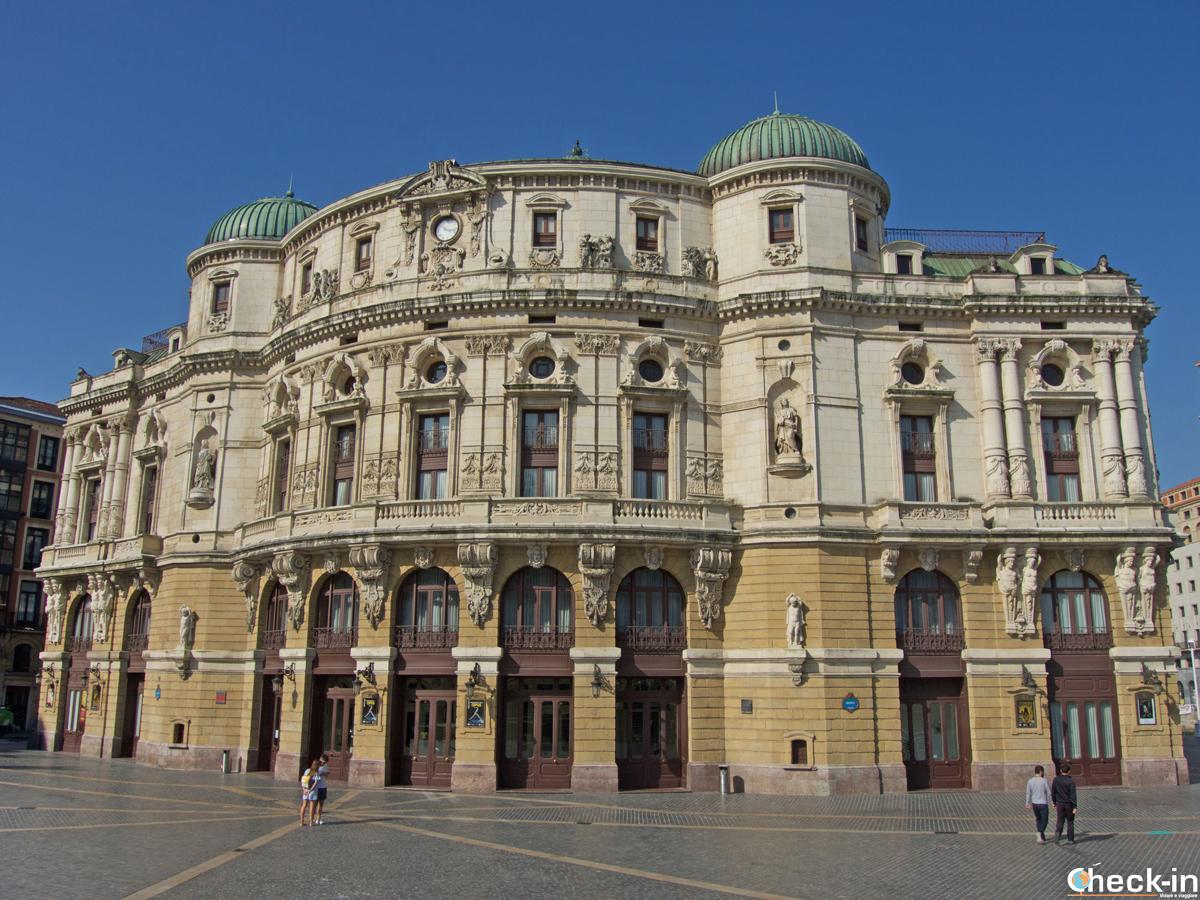 El Teatro Arriaga de Bilbao - Vizkaya, España