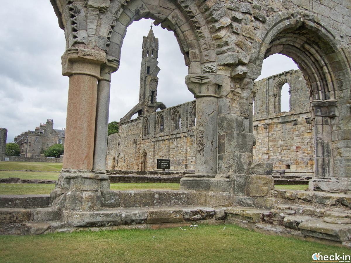 Visita della Cattedrale di St Andrews (Scozia)