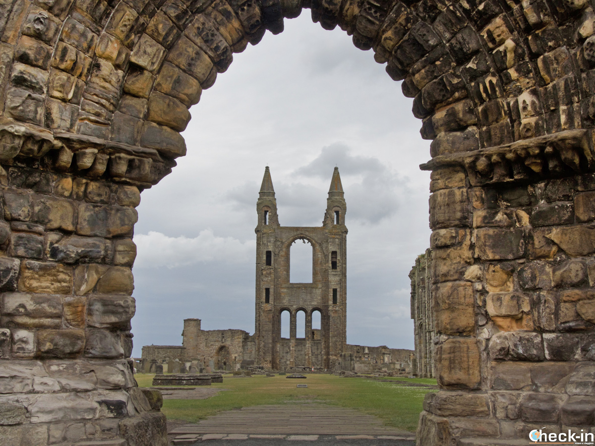 Visit of St Andrews Cathedral - Historic Scotland, Fife