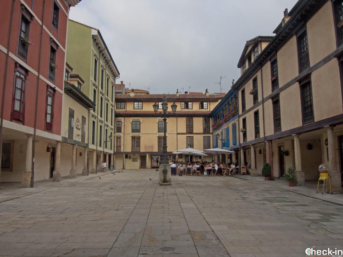 Plaza de Fontán - Oviedo, Spagna