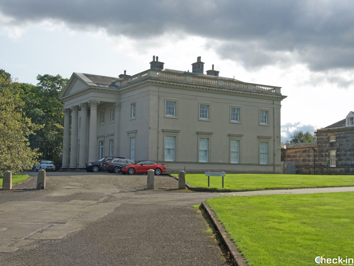 La Duddingston House a Edimburgo (Holyrood Park)