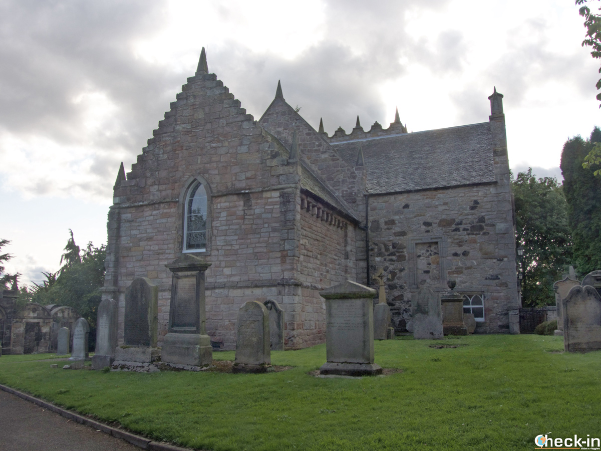 La Duddingston Kirk a Edimburgo (Holyrood Park)
