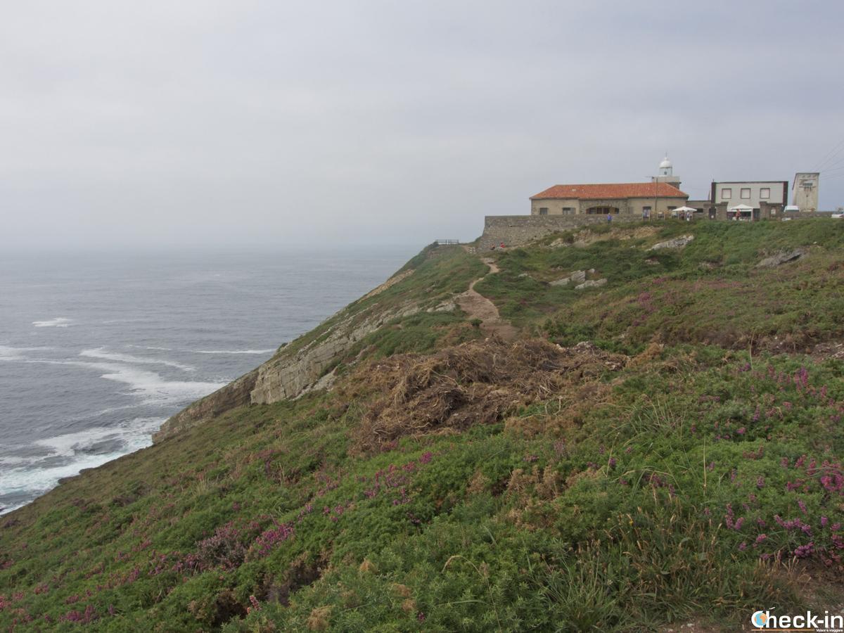 Scorcio del Faro di Cabo Vidio a Oviñana - Cudillero, Asturie