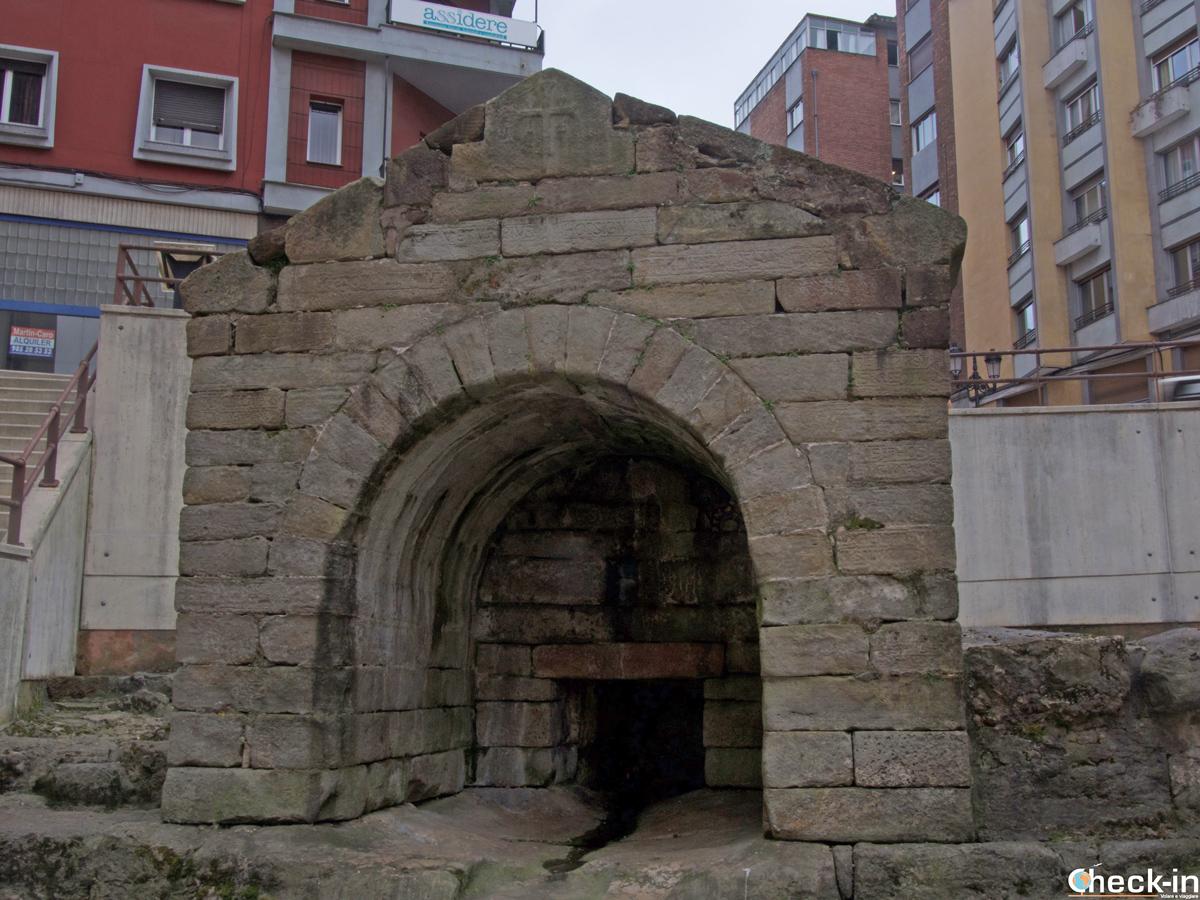 La Fuente de Foncalada a Oviedo (Spagna)