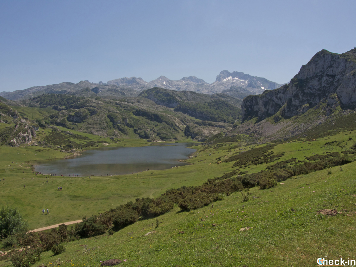 Il Lago di Ercina nei Picos de Europa - Asturie, Spagna