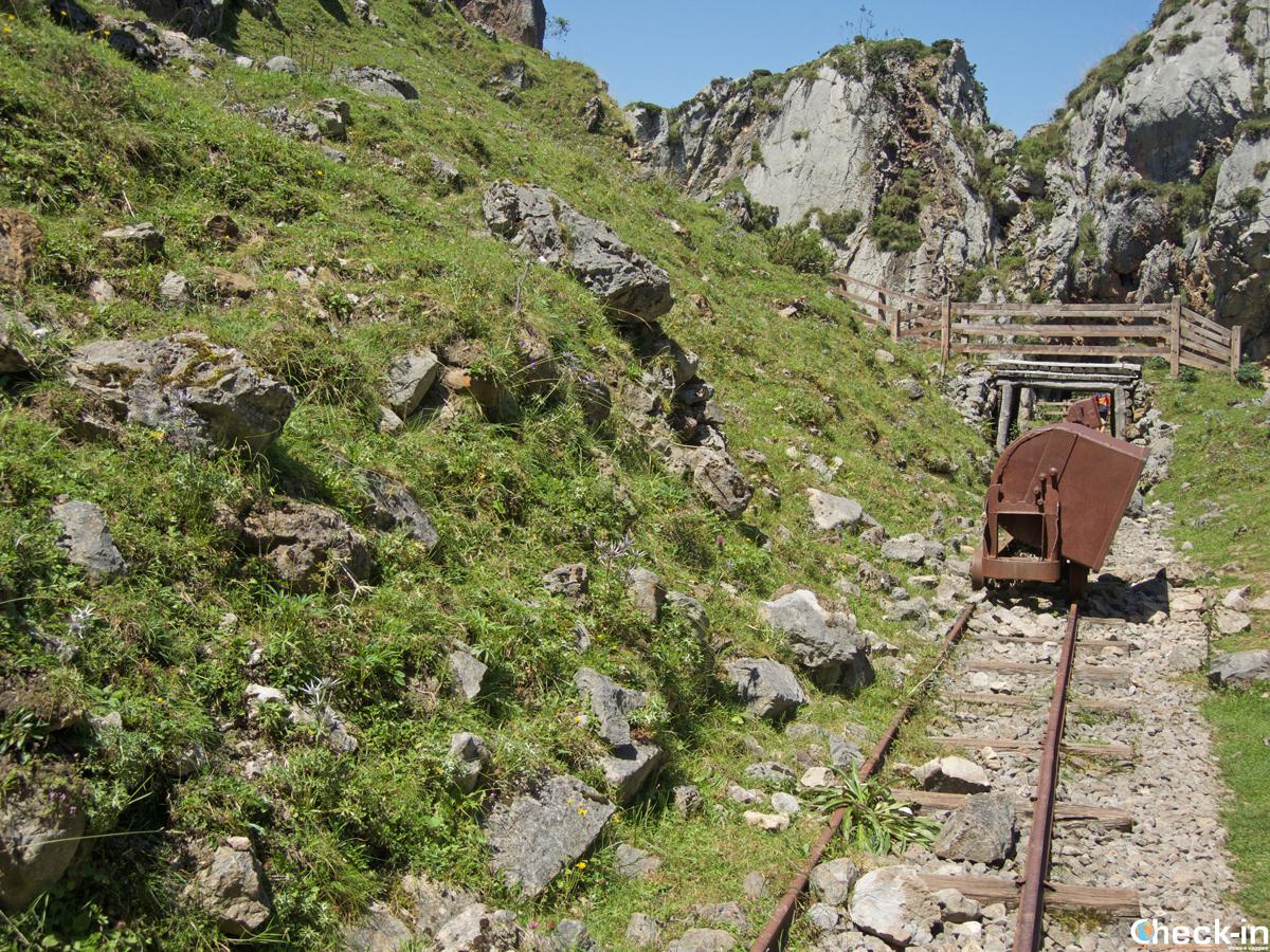 Le Mina de Buferrera sui Picos de Europa - Asturie, Spagna