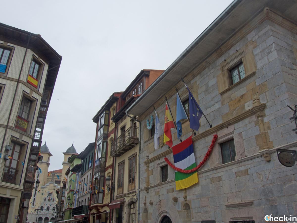 Passeggiata per il centro storico di Ribadesella (Asturie)