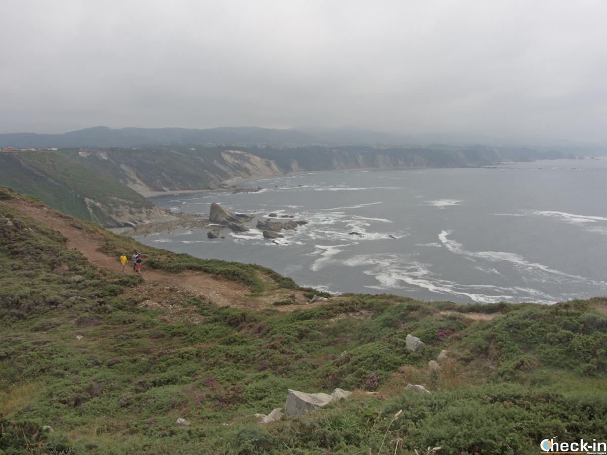 Sentiero costiero da Oviñana a Cabo Vidio (Asturie)