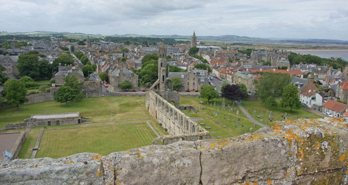 St Andrews, what to see in a day trip from Edinburgh or Glasgow