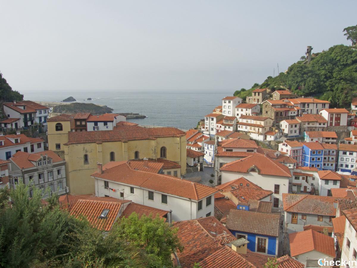 Terrazza panoramica su Cudillero (Spagna)