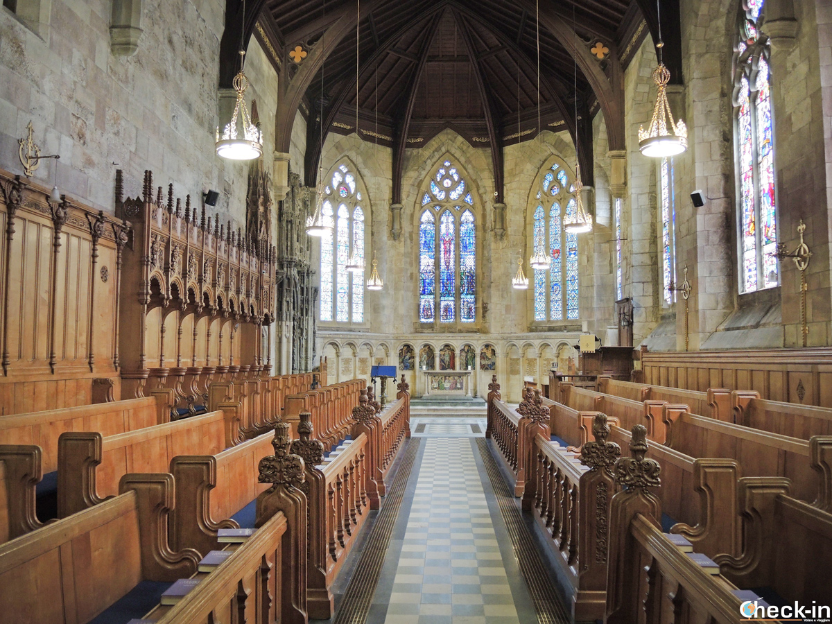 Visit of the St Salvator's Chapel in St Andrews - Fife, Scotland