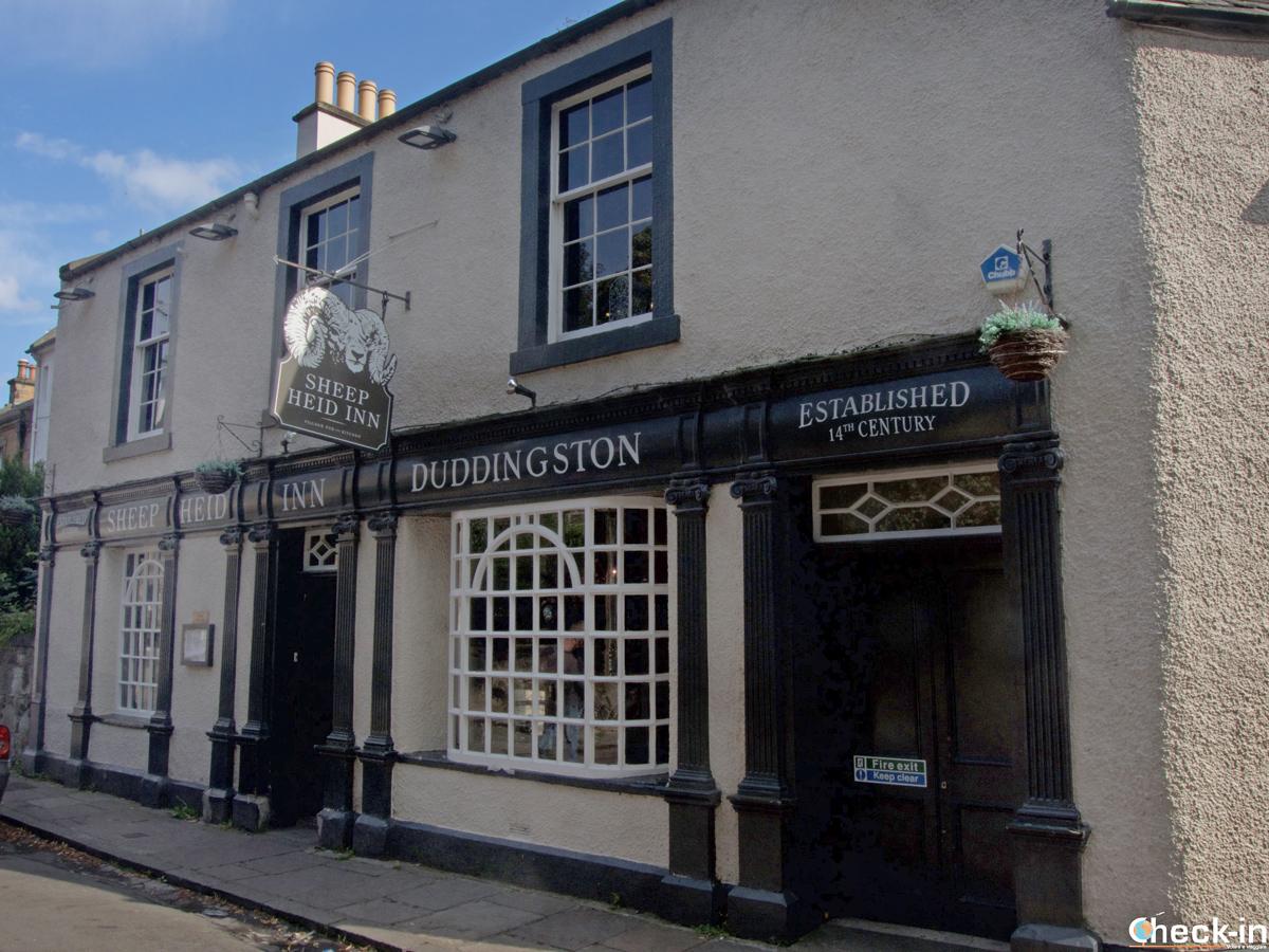 The Sheep Heid, tra i pub più antichi di Scozia