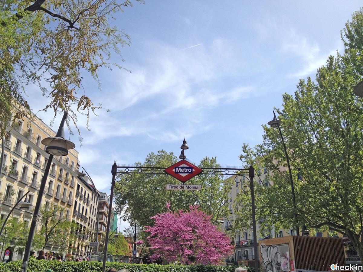 Come arrivare in centro Madrid dall'aeroporto in metropolitana