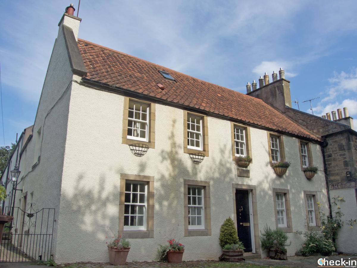 The Bonnie Prince Charlie's cottage in Duddingston, near Edinburgh