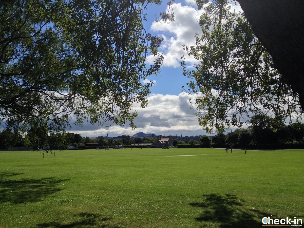 Urban parks in Scotland - Inverleith Park (Edinburgh)
