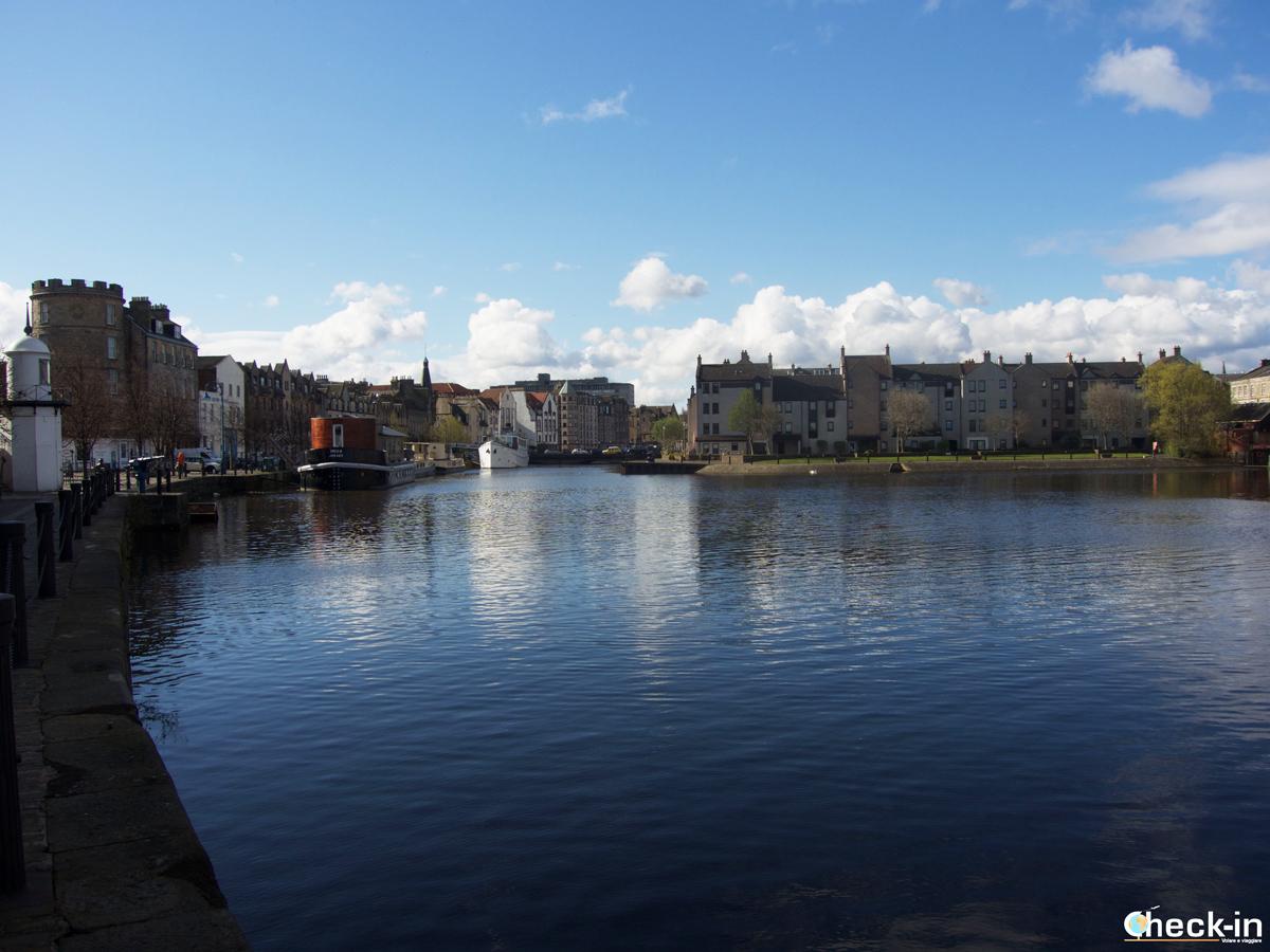 Exploring Leith area - Edinburgh (Scotland)