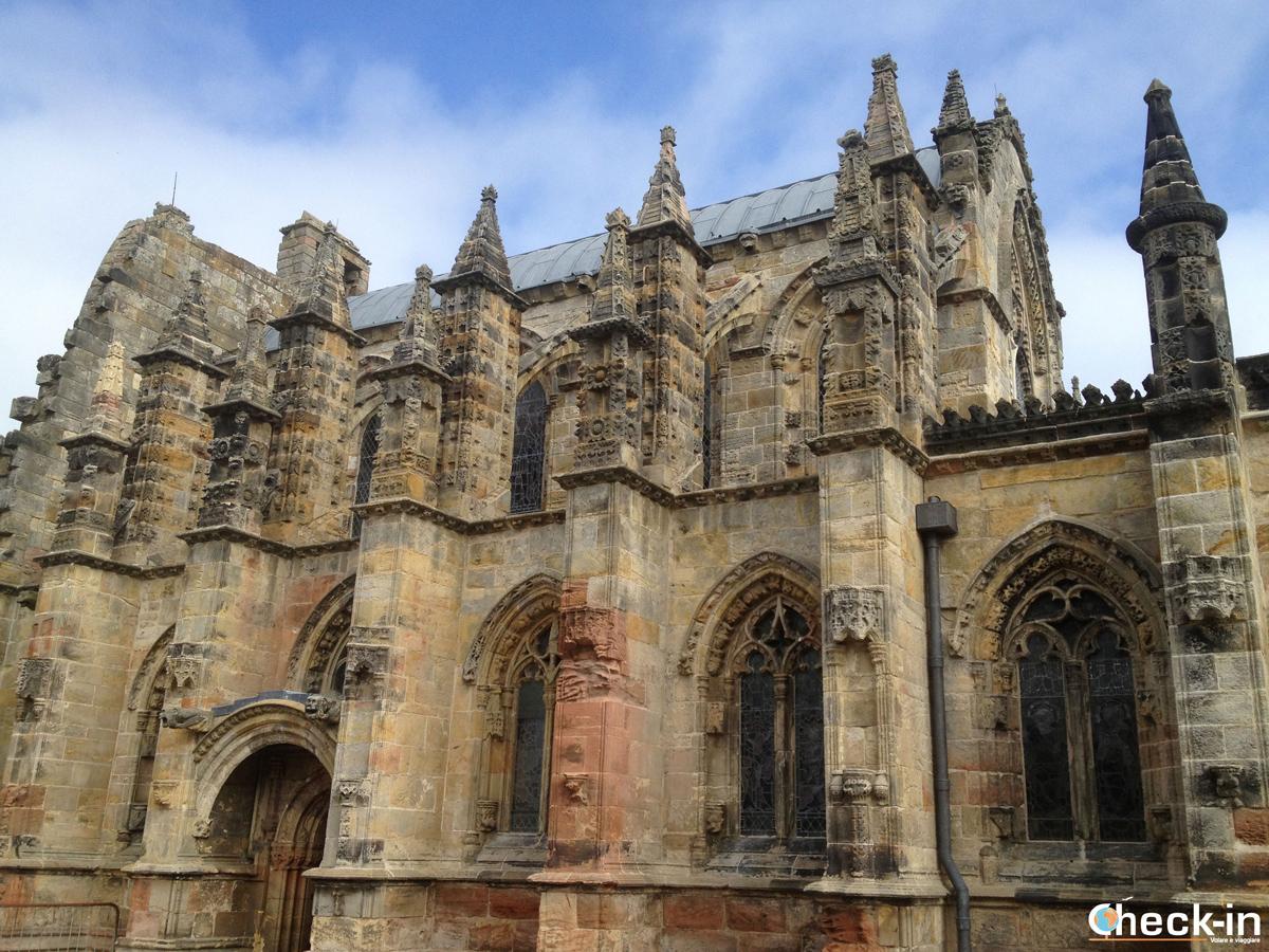 Visita in italiano della Cappella di Rosslyn a Edimburgo
