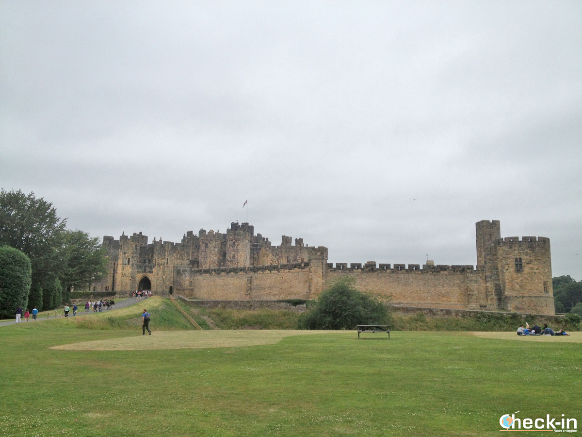 Alnwick Castle (Inghilterra) - Il castello di Harry Potter