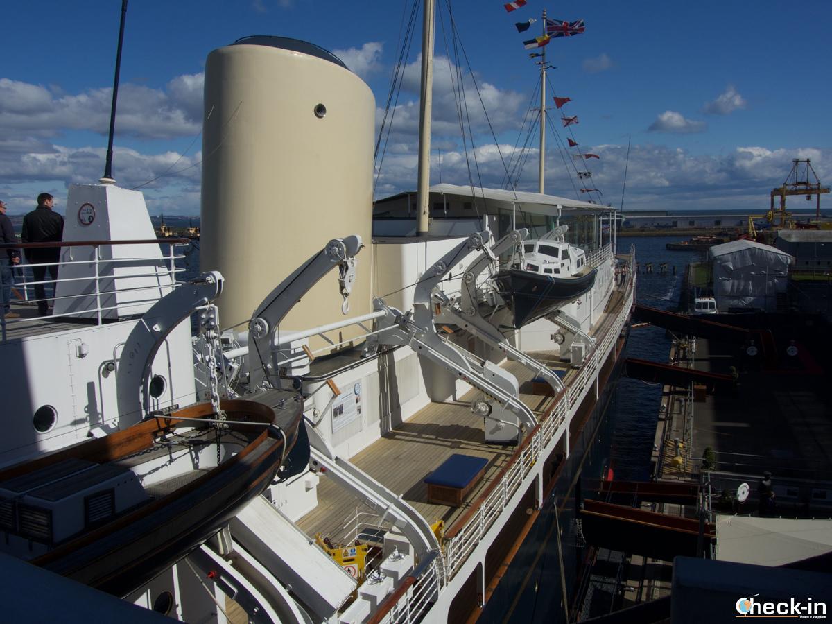 The Royal Yacht Britannia access from Ocean Terminal - Leith, Edinburgh