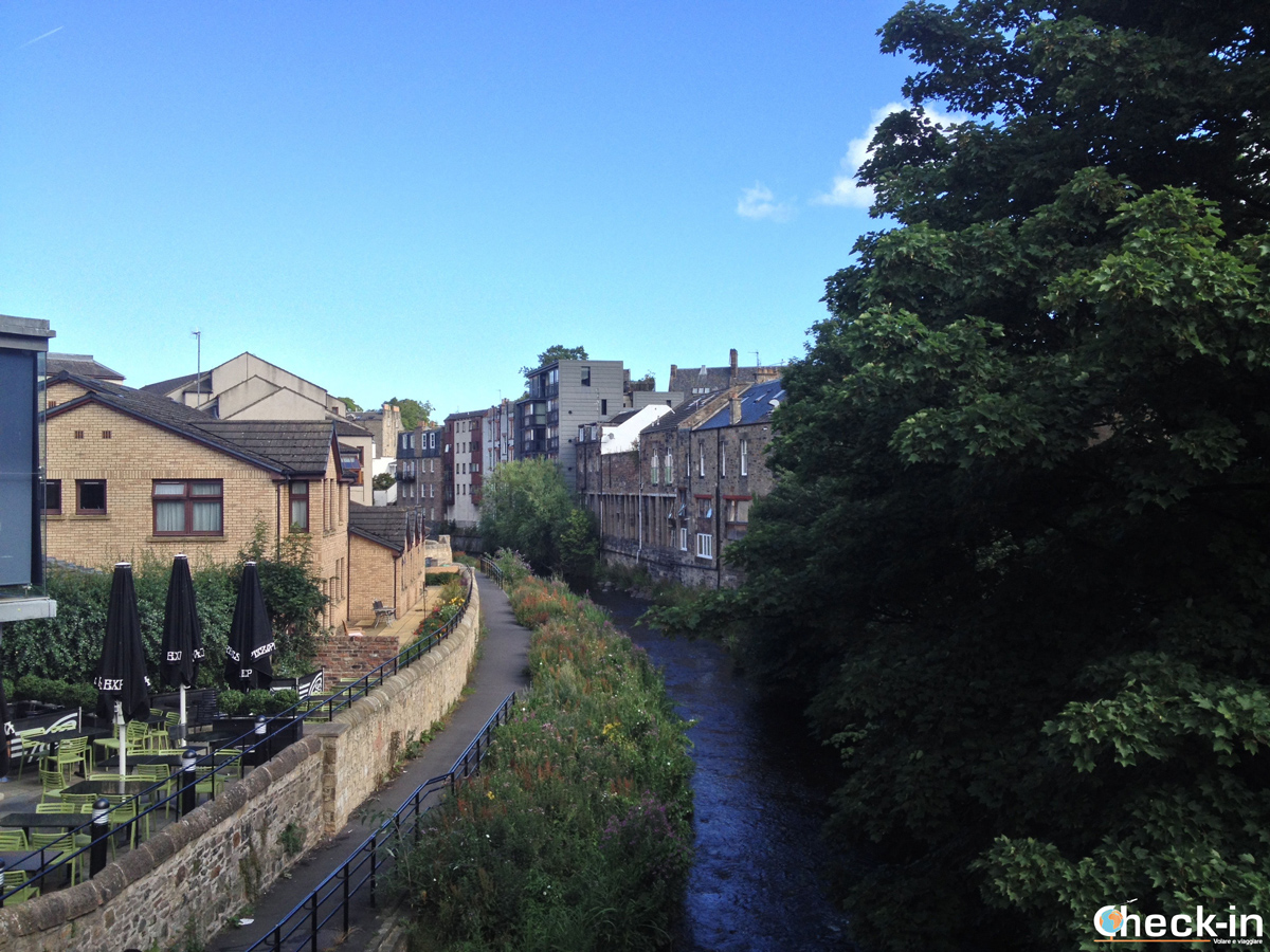 The Water of Leith in Stockbridge (Edinburgh)