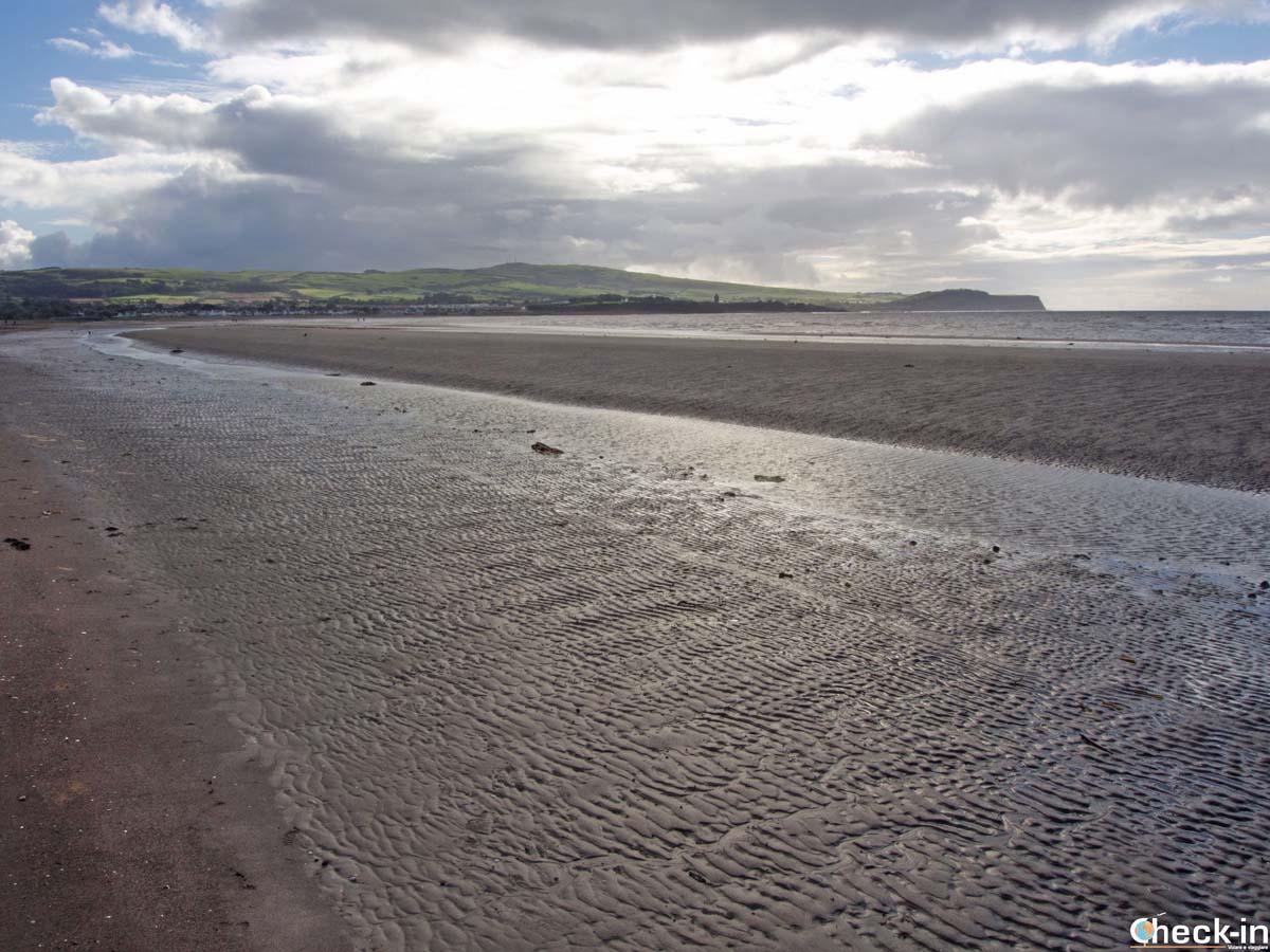 Walk along the Ayrshire Coast Path in Ayr