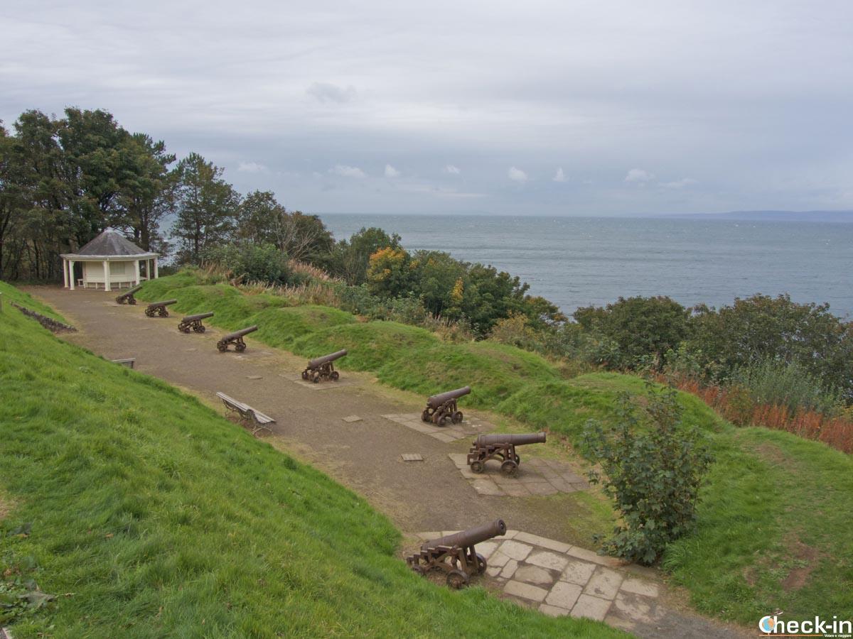 Cannoni a protezione del Culzean Castle (Scozia)