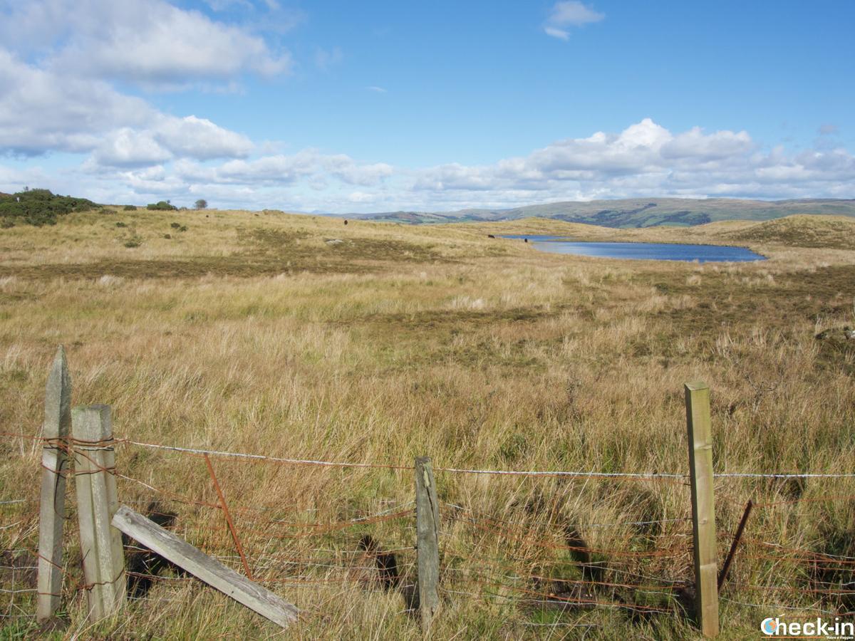 Panorama dall'isola di Great Cumbrae (Scozia)