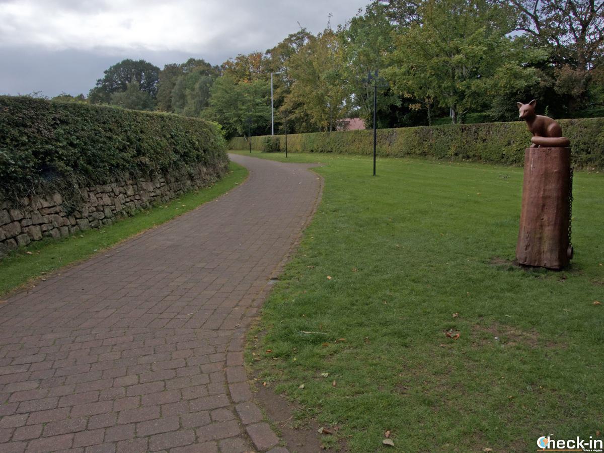 Il Poet's Path a Alloway, Scozia