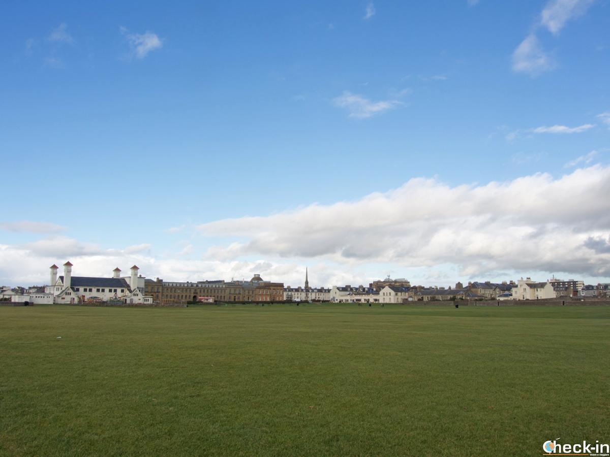 Il Low Green sul lungomare di Ayr (Scozia)