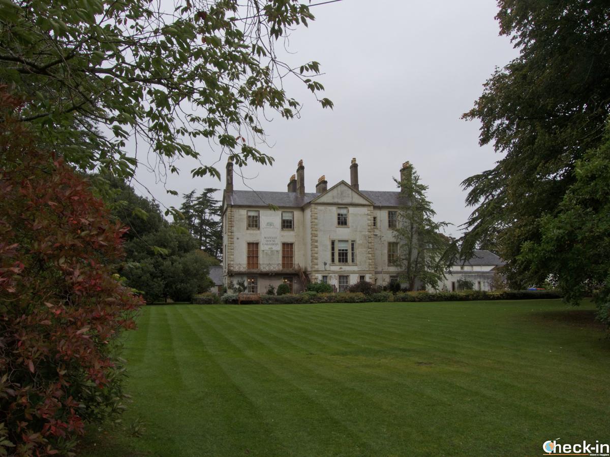 La Rozelle Estate nell'omonimo parco a sud di Ayr - Scozia, Regno Unito