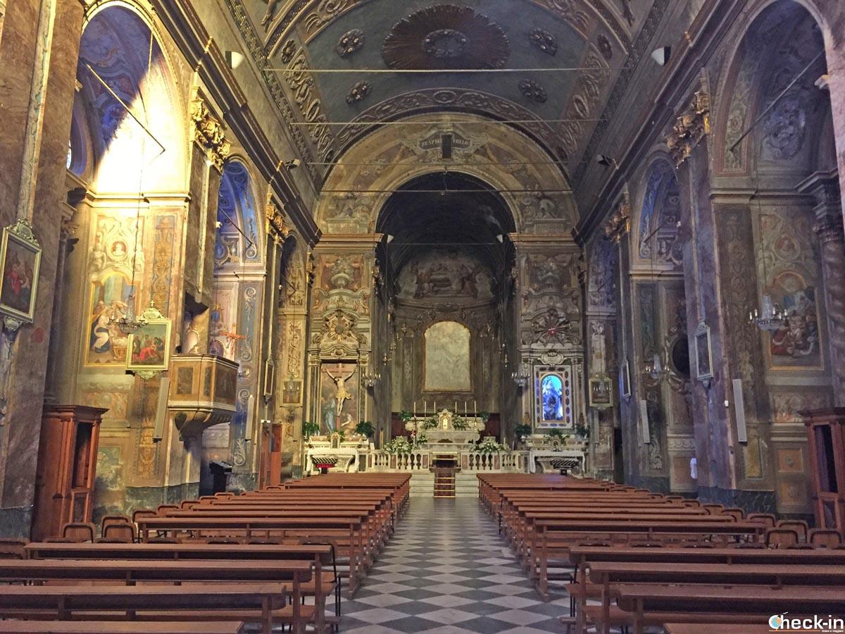 Visita della Chiesa parrocchiale della Santissima Annunziata di Spotorno