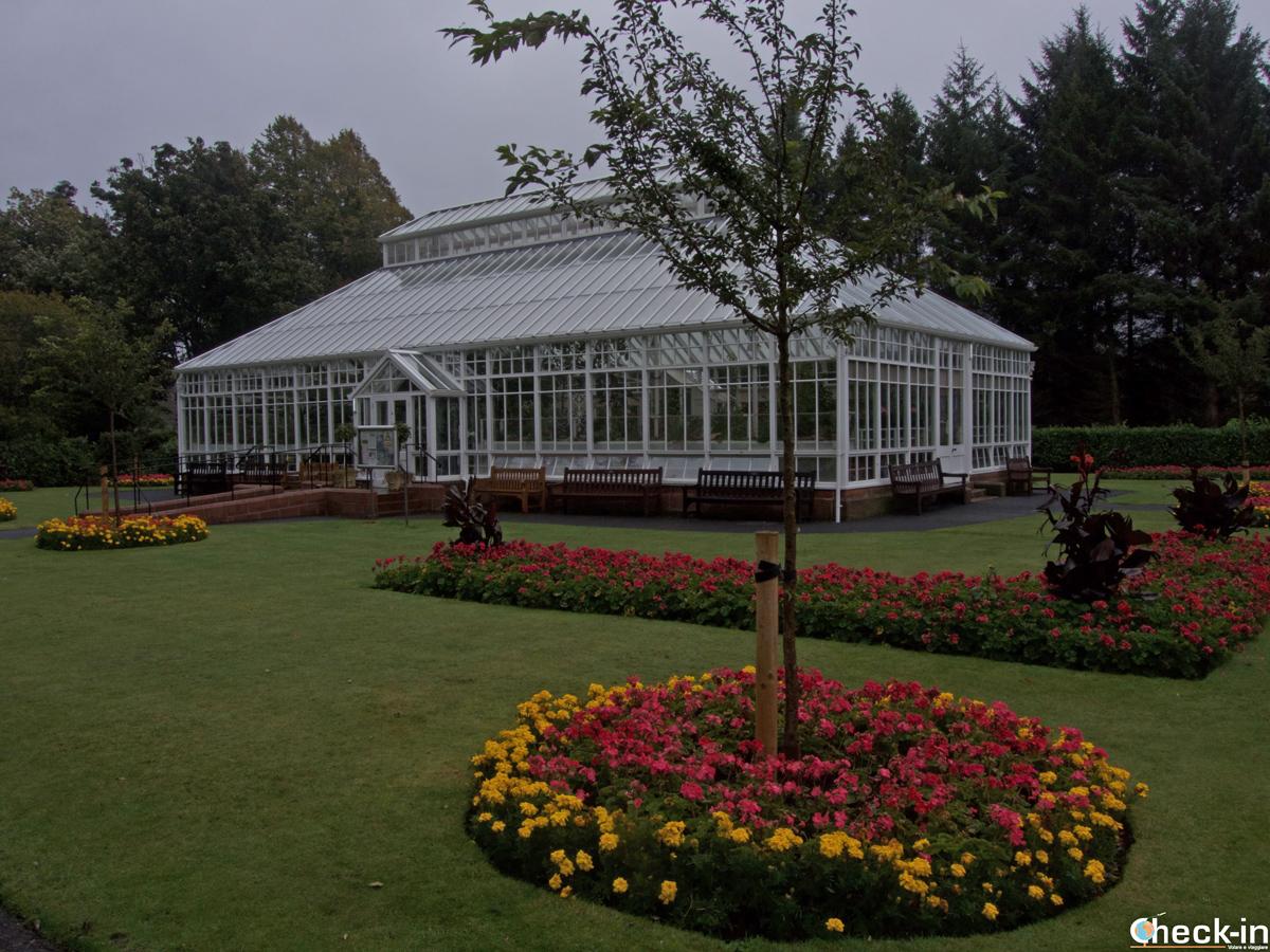 Il Belleisle Conservatory a sud del centro di Ayr (Scozia)