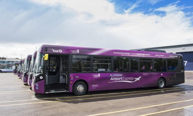 Glasgow Airport, how to reach the city centre (Buchanan Bus Station) by Express First bus service 500
