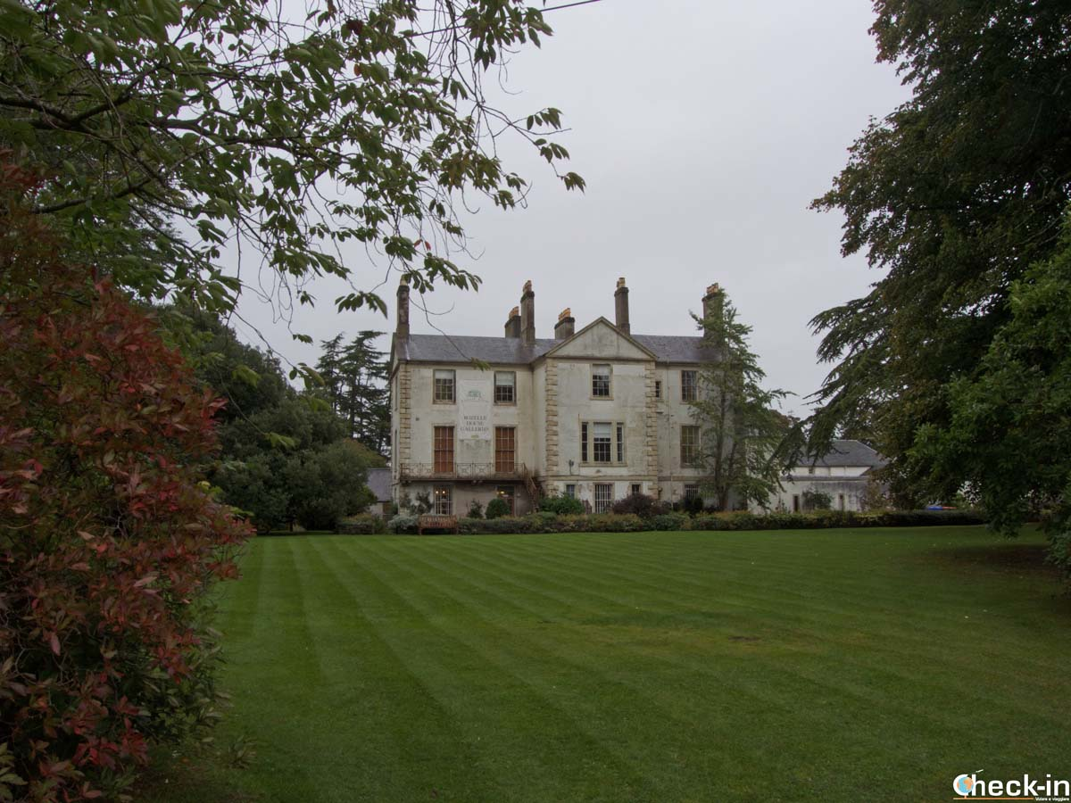 A glimpse of Rozelle Estate in Ayr, Scotland