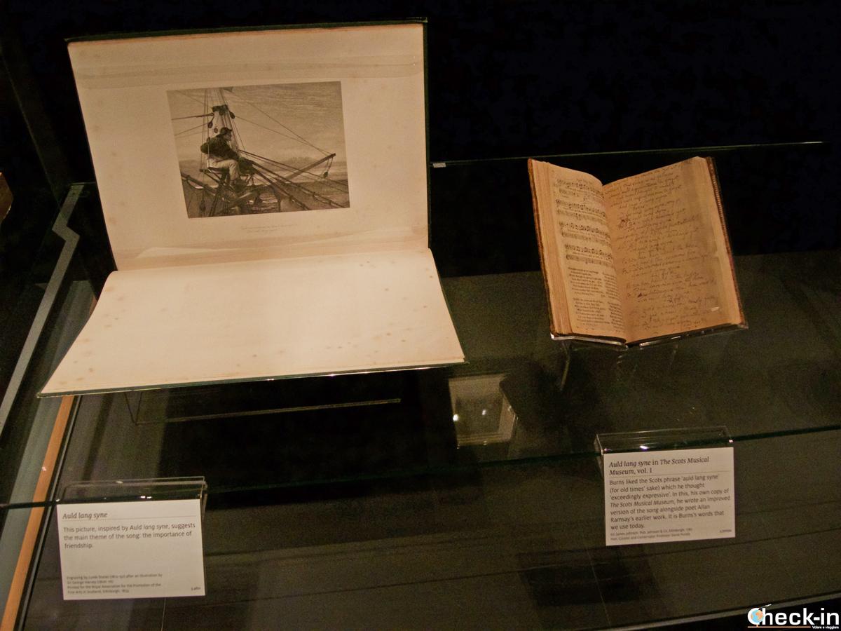 """Auld Lang Syne"" - Robert Burns Birthplace Museum, Alloway (Scozia)"