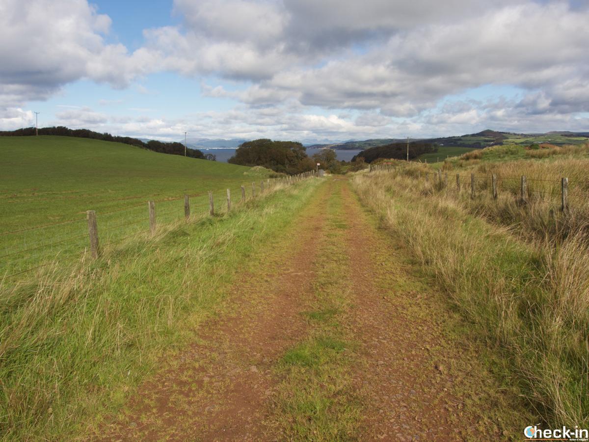 Itinerario a piedi sull'isola di Great Cumbrae - Ayrshire, Scozia