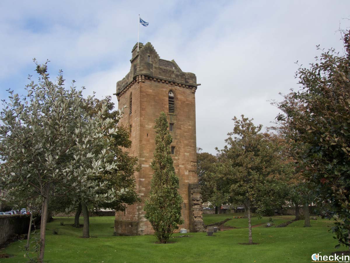 The St John's Tower in Ayr - Ayrshire, Scotland